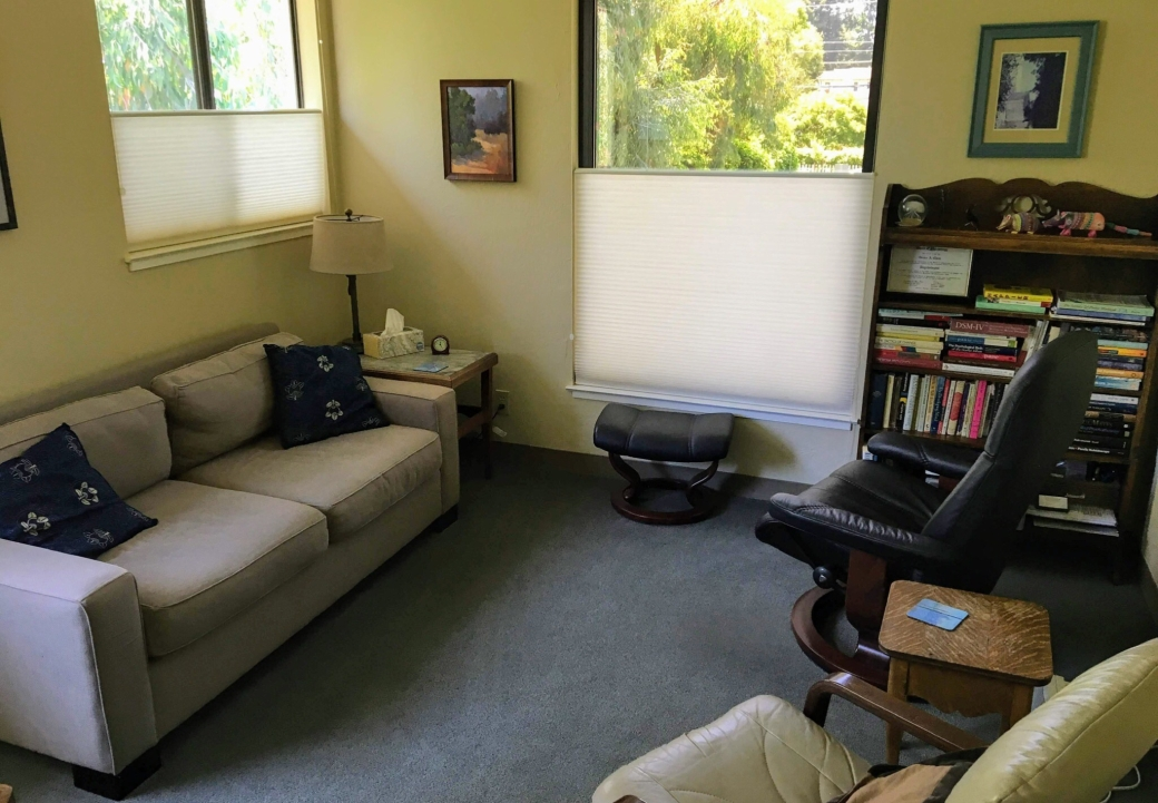 Picture of therapy office