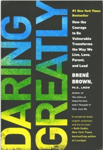 Brene Brown's book - Daring Greatly
